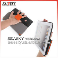 book style leather case for ipad