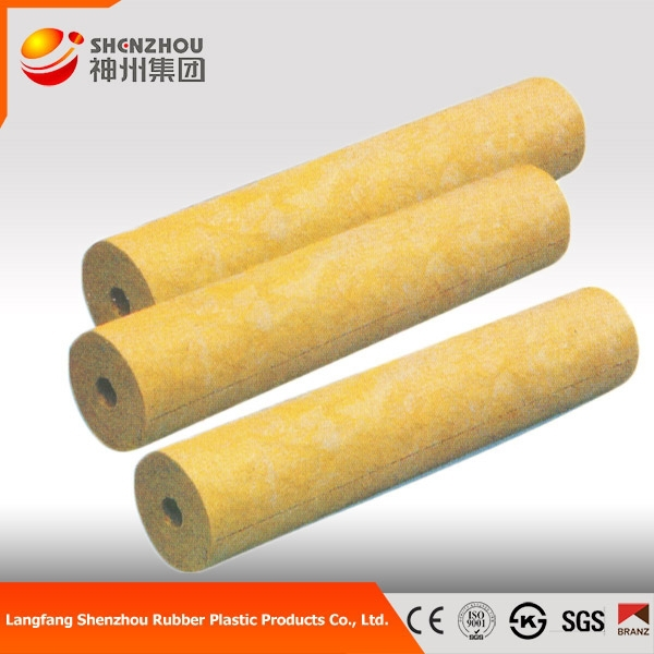 thermal insulation construction materials rock wool pipe