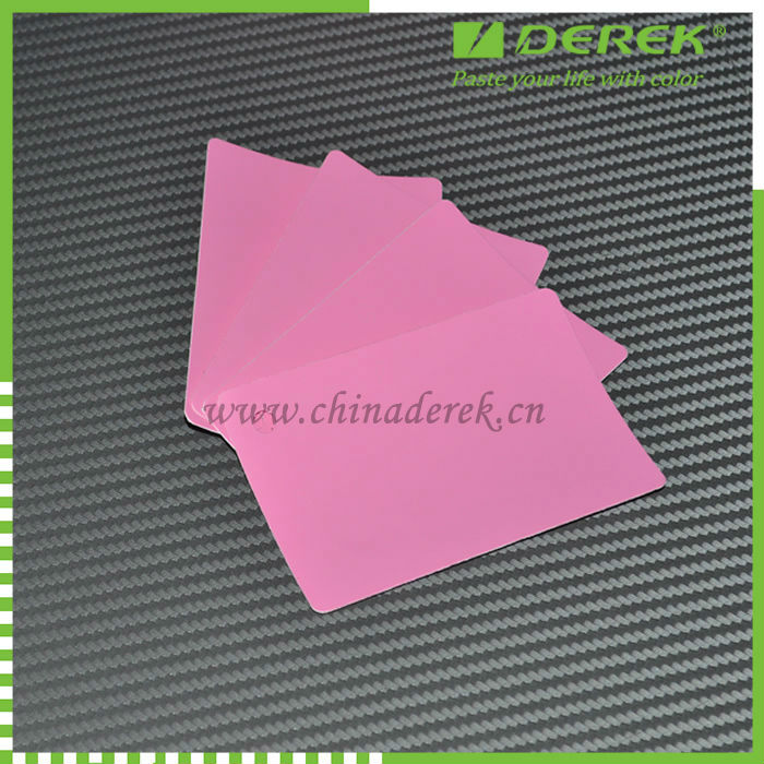 New product matte car vinyl pink/protective film