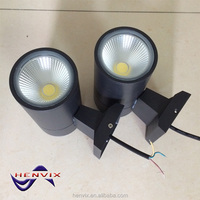 COB 10W outdoor led lights wall mount with CE ROHS