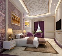 Bisini One Project Solution 3D Rendering For Villas With Furniture And Material