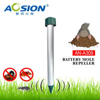 Garden electronic sound wave battery operated mole repellent manufacture