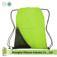 ECO friendly child school backpack reusage beach bags recycle polyester sling bags