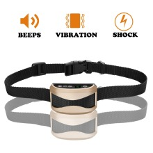 2017 Hottest Pet Training Products Dog Bark collar Control Electric No Shock Anti-Bark Dog Collar