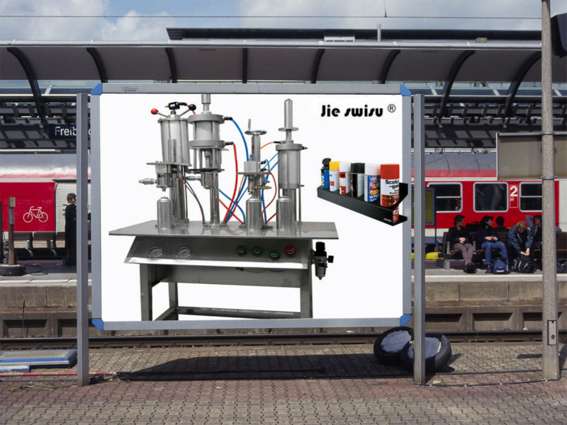 factory price graffiti spray tips filling machine