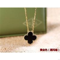 Fashion professional good luck four leaf clover necklaces