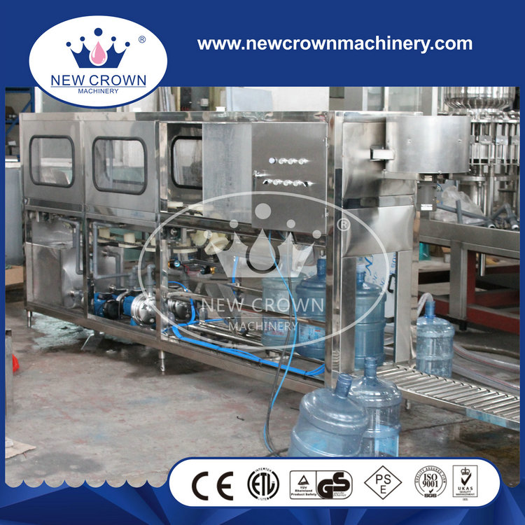New products to sell 200BPH 5 gallon small scale bottle filling machine