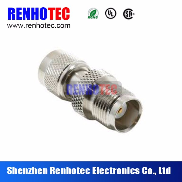 50ohm auto electrical connector UHF male to TNC female adapter