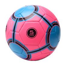 Factory Price Soft Touch Pink Advertising Different Size Soccer Ball For Girls Women