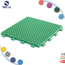 kids runway elastic plastic non-porous assembly suspended flooring