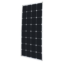 Factory Low Price Pv Solar Panel Price Solar Cell Price 100W Sunpower Semi Flexible Solar Panel From China