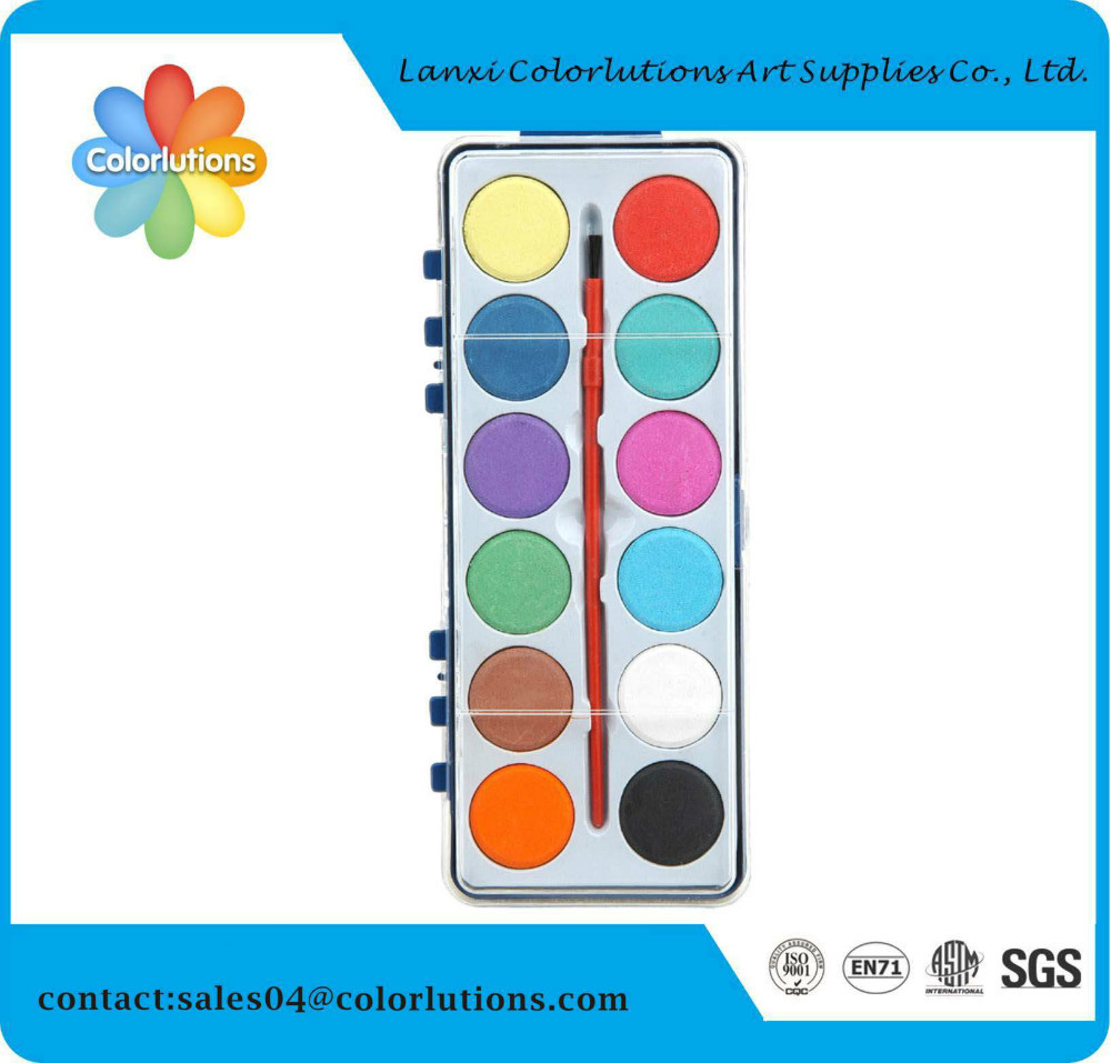 2015 colorlutions non toxic easy wash magic watercolor paint