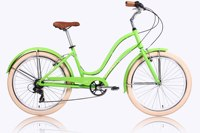 26 Inch Alloy 6 Speeds freestyle beach cruiser bicycle