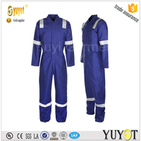 Low Price High Performance Aramid Safety Fireproof Reflective Coverall