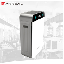 Portable sleeping well air cleaner, activated carbon to remove odor UV lamp to kill virus HEPA home air purifier