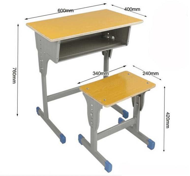 Modern Simple High Quality School Desk And Chair School Furniture