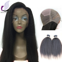 Alibaba Express Human Hair Full Lace Wigs Braided Wigs For Black Women