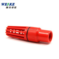 connected with Water Pump Plastic PVC Foot Valve