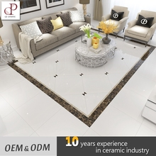 Porcelanato Floor Tile Price Dubai Polished Crystal White Porcelain Tiles 30X30 60X60
