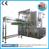 Spout doypack sealing machine/automatic soda drink filling machinery/ liquid filling machine