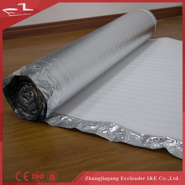 insulation moisture-proof EVA foam underlay for flooring/ flooring foil underlayment