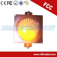 amber traffic light flasher 300mm