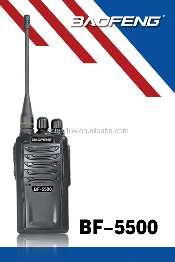 Baofeng BF-5500 Voice Compression Voice Encryption Walkie Talkie