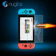 Nuglas 0.3mm Premium 9H Tempered Glass Screen Protector Film Guard for Nintendo switch