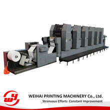 WINB33 6 color rotary paper offset printing machine for various label