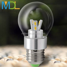 360 degree LED Bulb 85-265v e27 e26 3w 4W 5w for home light