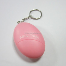 Personal Safety Keychain Sound Detector Alarm For Ladies