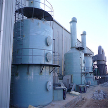FRP Purification Tower for acid gas,organic gas, waste gas treatment