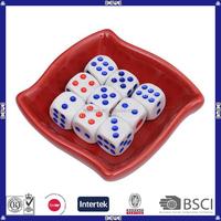 Wholesale OEM Gambling 10mm Plastic Dices