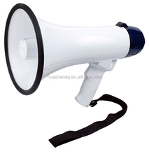 "20w loud speaker megaphone with siren and 10"" or 20"" record"