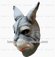 popular rabbit head animal mask for Halloween, party or Masquerade, cosplay