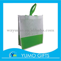 custom picture printing recycle laminated promotional shopping non woven bag