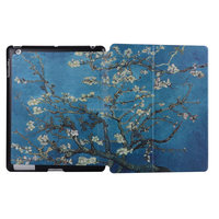 Colorful Smart Cover Case For iPad4/3/2 , for ipad cases leather