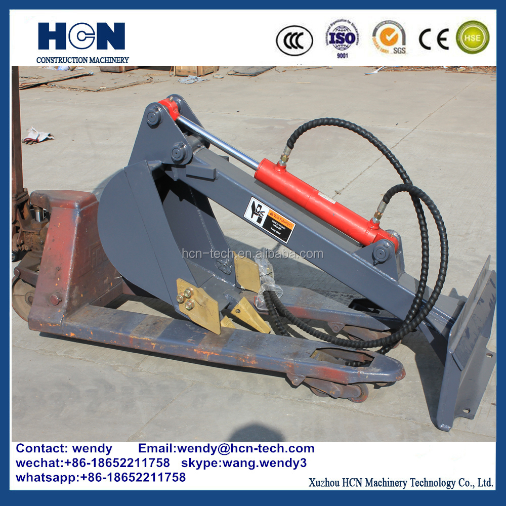 HCN 0308 single swing arm on loader