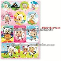 2013 Wholesale fashion promotion pvc sticker Packaging Label reusable home wall sticker paper
