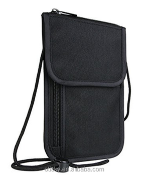 Top quality polyester phone travel bag
