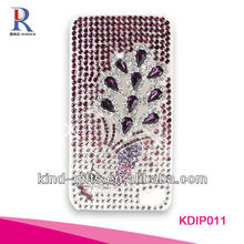 Bling Rhinestone Design Body Glove Cell Phone Cases For Iphone5C 5S China Supplier
