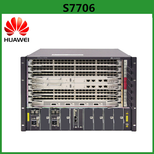 Multiple-service Routing Huawei S7706 Smart Routing POE Switch With 3.84 Tbit/s Capacity
