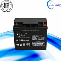 12v 17ah storage solar lead crystal battery with good quality