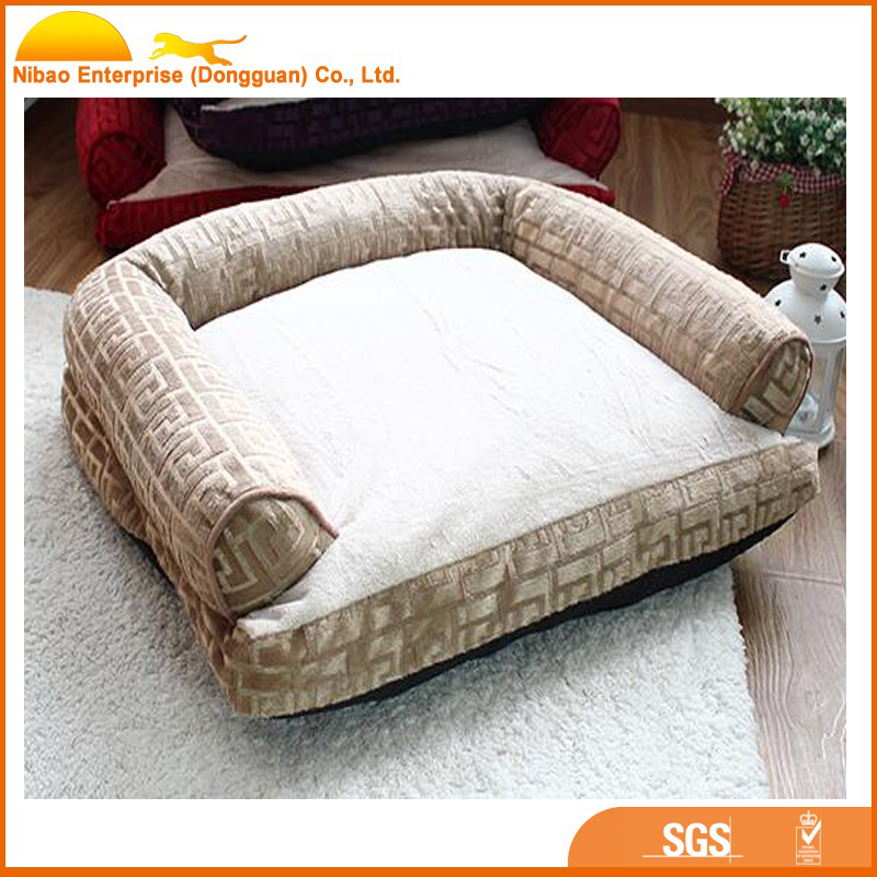 2017 hot new products pet dog wrought iron sofa bed