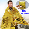 Emergency blanket/First aid emergency blanket thermal blanket/New Camping Outdoor Emergency