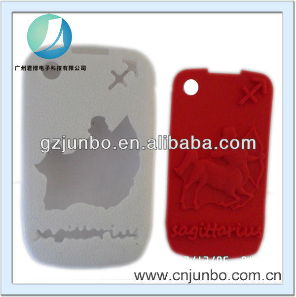 New combo Silicone Rubber Gel Soft Skin Case for Blackberry Curve 8520 8530 3G 9300