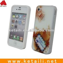 New Arrival Silicone Case For Iphone 4/4s envelope style