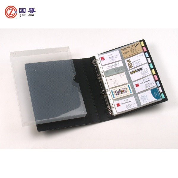 Credit Card Inserts Plastic Card Holder/ /Large Size Business Cards Case