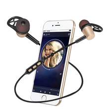 Microphone Bluetooth V4.1 Earphone Headphones Neckband Style For Android IOS Phones Y522 Bluetooth Headset With Magnetic Earbuds