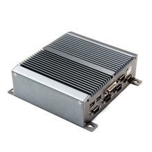 Fanless Industrial Mini PC i7 5550U i5 4200U i3 4010U i3 5005U Rugged ITX Aluminum Case mini Computer win7 barebone